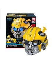 Transformers Studio Series Bumblebee Helmet Bluetooth Speaker Cosplay Mask Gift