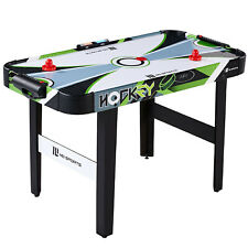 MD Sports 48 Inch Air Powered Hockey Table with LED Electronic Scorer