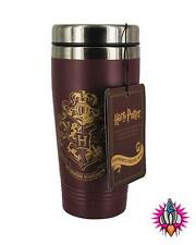 HARRY POTTER  HOGWARTS STAINLESS STEEL DOUBLE WALLED TRAVEL MUG