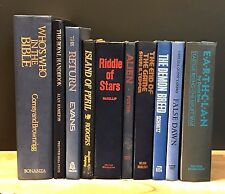 Decorative Books~Instant Library~Lot of 10 ~Blue Spines