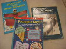 Lot of 3 Grades 3 up Writing Support Prompt A Day Blast Off Book Reports Editing