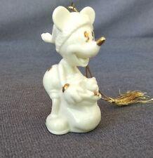 Lenox Disney Mickey Mouse Porcelain Christmas Ornament Figurine 1997