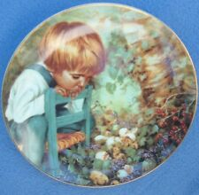 MICHAEL'S MIRACLE (1982 STRATFORD COLLECTORS PLATE) NANCY TURNER