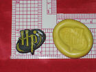 Harry Potter Mold Silicone Bookscrapping Resin Clay A498 Cake Deco