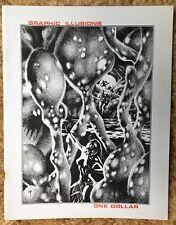 Graphic Illusions 1 comic book fanzine Ditko, EC, Barr 1971