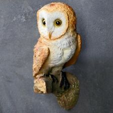 Owl Statue For Garden Outdoor Garden Statue - Decorative Polystone Bird Outside