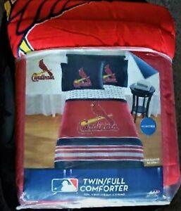 St Louis Cardinals 72 x 86 inch Microfiber Twin Full Comforter Microfiber