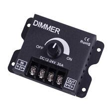DC12V/24V 30A LED Strip Light Bulb Lamp Switch Dimmer Knob Adjustable Controller
