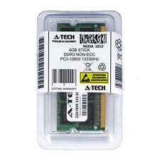 4GB STICK SODIMM DDR3 NON-ECC PC3-10600 1333MHz 1333 MHz DDR-3 4G 4 g Ram Memory