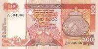 SRI LANKA 100 RUPEES P105c 1992 UNC BANKNOTE