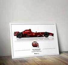 New listing Kimi Raikkonen Ferrari F2007 F1 Print - Scuderia GP