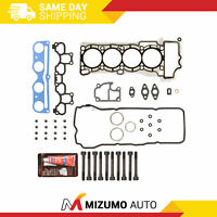 MLS Head Gasket Bolts Set Fit 04/01/2003-06 Nissan Sentra 1.8 DOHC QG18DE