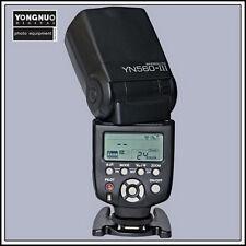 Yongnuo YN560 III LCD Flash Speedlite Canon Nikon Pentax Soporte rf-602/603ii