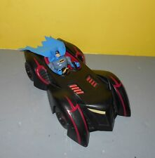 Mattel Batman the Brave and the Bold TRU Batmobile w/ Blue Blocky Batman Figure