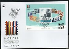 2019 NORWAY FDC Stamps on stamp MS  NK 2000