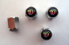 Phish Tire Valve Stem Caps, Phish Band Logo Tire Caps, Phish souvenir Tire Caps