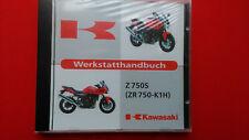 Werkstatthandbuch Reparaturanleitung Kawasaki Z 750S  (ZR 750-K1H ) Orig.CD