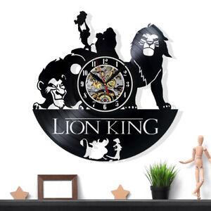 The Lion King Vinyl Record Wall Clock Gift Surprise Ideas Friends Birthdays Art
