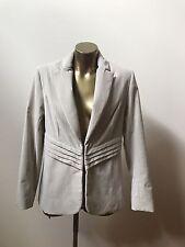 Fleur Wood | Silver Thread Jacket | Size 3 |