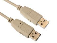 Cordon PC USB2 A male - A male 2m                                      CBUSBAMM2