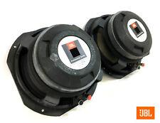 "JBL 2123H Midrange 10"" 8-ohm Speaker PAIR - Tested Close DCRs: 4.7 / 4.4 - 4874"