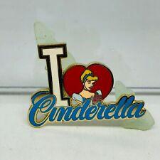 Disney Pin Le 500 I Love Cinderella