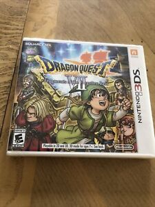 Dragon Quest VII: Fragments of the Forgotten Past (Nintendo 3DS 2016) New Sealed
