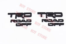 2014-2019 TOYOTA 4RUNNER TRD OFF ROAD MATTE BLACK OUT EMBLEM KIT REPLACEMENT
