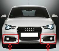 Genuine AUDI A1 8X (10-14) S-LINE Bumper Fog Light Grill PAIR SET LEFT+RIGHT