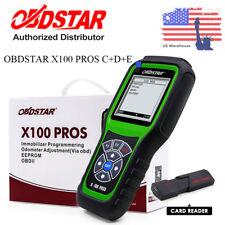 OBDSTAR X100 PROS C+D+E Auto Car Immobiliser + Od0meter Reset Tool+OBD EEPROM