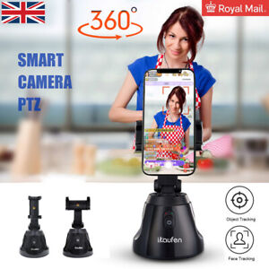Auto Tracking Smart Shooting Phone Holder Stand 360° Rotation Auto Face Tracking