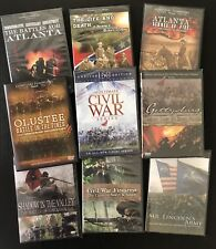 NEW!  9 DVD, American Civil War Battle History collection, rare A+ Re-enactments