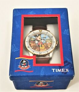 Rare Disney Mickey Mouse Watch by Timex Indiglo T 87301 36