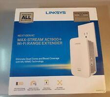 Linksys RE7000 Maxstream WiFi Range Extender Repeater AC1900+