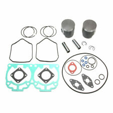 2007 Ski-Doo Rev 600 Ho Sdi Dual Ring SPI Pistons Bearings Top End Gasket Kit