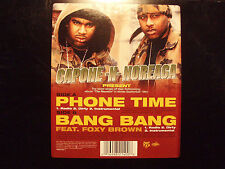 "CAPONE-N-NOREAGA - PHONE TIME / BANG (12"") 2000!! RARE!!  FOXY BROWN + ALCHEMIST"