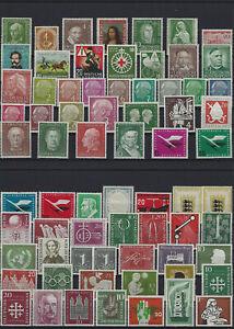 Bundesrepublik aus 1949 - 2000 ** postfrisch