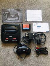 Sega Mega Drive 2 Mega 6 Boxed And Complete Console.