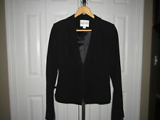 Reiss Cordelia Kay Black One Button Jacket size S