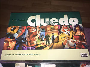 Cluedo - The Classic Detective Game - Board Game 2003 - Used & Complete