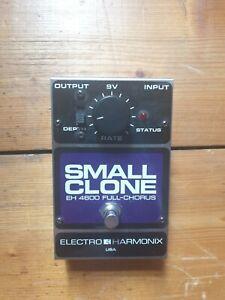 Electro Harmonix EHX Small Clone Chorus Pedal