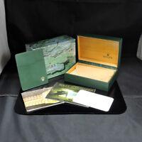 ROLEX SUBMARINER 16600 WATCH BOX CASE【1995】SUISSE 68.00.55 FZ1286 KM1