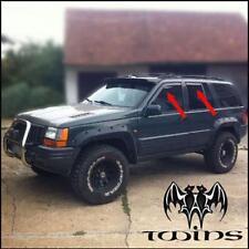 Set 4 Deflettori Aria Antiturbo Oscurati Jeep Grand Cherokee ZJ  1993-1999