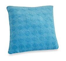 Velvet Pillow 18 Decor Accent Shelli Segal Blue French Riviera Aqua Bedding New