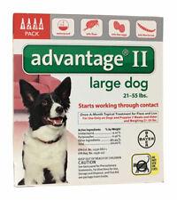 Bayer Advantage Ii Liquid Flea Drops Dog 4 pk