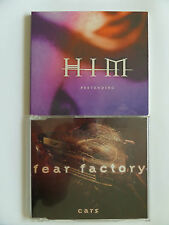 PACK 2 CD'S HIM -FEAR FACTORY   Metal,Hard rock,Gothic