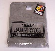 John Son Premium Quality Gray T-Shirt L 100% Cotton Piranha Records