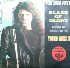 "JON BON JOVI - 7"" Vinyl - Blaze of Glory / You Really Got me - 1990 - Vertigo"
