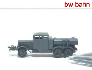 Roco Minitanks H0 737 Henschel Type 33 Fa Tank Sprayer Ts 2,5 A Armed Forces New
