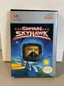 1989 CAPTAIN SKYHAWK, Nintendo Entertainment System (CB84)
